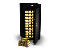 -David Heather-Gold Bar Safe RARE