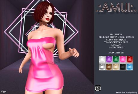 ".:AMUI:. ""Faye"" Dress (Maitreya Belleza Legacy)"