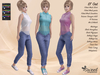 ST :: Out Outfit for Maitreya Lara, Slink (P, H), Belleza (V, I, F), Tonic (C,F) and Voluptuous. 14 Text HUD