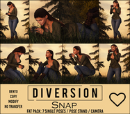 Diversion - Snap Poses (Wear To Unpack)
