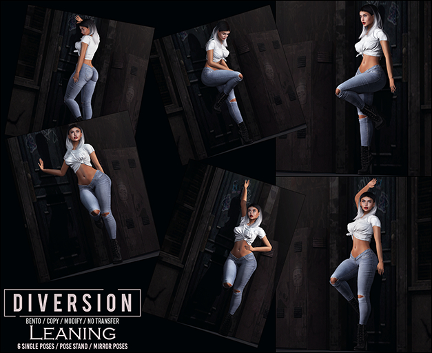 Diversion - Leaning Poses // Bento