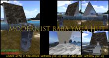 [MC]  Modernist Baba Yaga Hut  [wear to unpack]