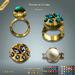 Lazuri Perles de Gloire Rings MESH