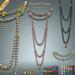 [ Lazuri ] Perles de Gloire Back Necklace MESH