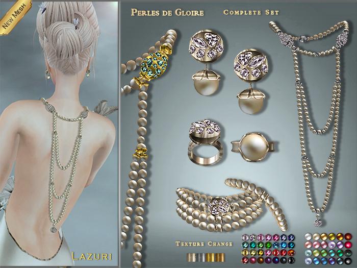 [ Lazuri ] Perles de Gloire Complete Set - MESH - NEW