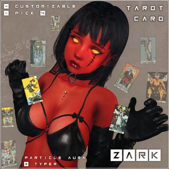 Particle Aura & Typer - Tarot
