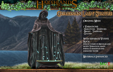 [Harshlands] Guardian Lady Statue