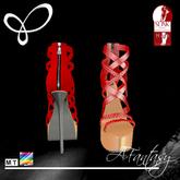 Afantasy HIGH SLINK Color Change Braided High Heel Sandals