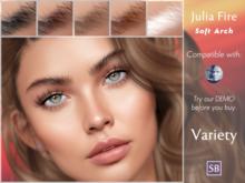 Eyebrows, Genus: JuliaFire.SoftArch.Variety