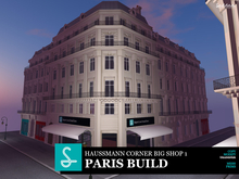 Paris Haussmann big Corner Shop v1.0