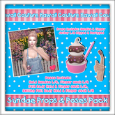[: Kawaii Couture :] Sundae Props & Poses Pack - Chocolate