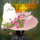 Lady Ascot Hat Morning Glory PinkStone's Works