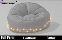 FanTaSY Designs - Bean Bag with light strings  - Full Perm
