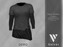 //Volver// Jaden Double T-shirt - DEMO