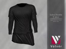 //Volver// Jaden Double T-shirt - Black