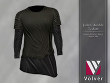//Volver// Jaden Double T-shirt - Dark Army