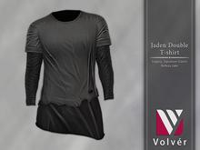 //Volver// Jaden Double T-shirt - Gray