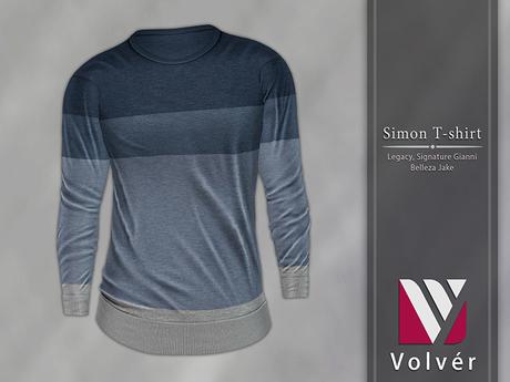 //Volver// Simon T-shirt - Spruce