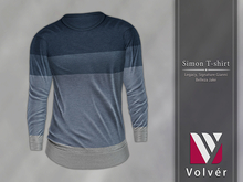 //Volver// Simon T-shirt - Spruce [ADD ME]