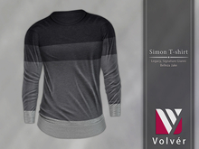 //Volver// Simon T-shirt - Smoke