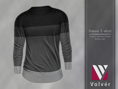 //Volver// Simon T-shirt - Black