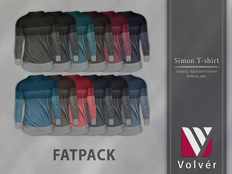 //Volver// Simon T-shirt - FATPACK