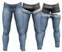 RIOT / Jaden Strip Jeans - Blue58 | Jake/ Gianni / Legacy