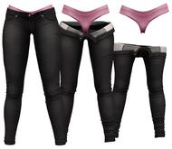 RIOT / Juno Strip Jeans - Slate | Maitreya / Belleza / Slink / Legacy