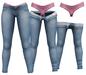 RIOT / Juno Strip Jeans - Blue58   Maitreya / Belleza / Slink / Legacy
