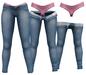 RIOT / Juno Strip Jeans - Blue56   Maitreya / Belleza / Slink / Legacy