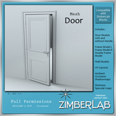 Door Mesh with full permissions - ZimberLab Builder's Kit A