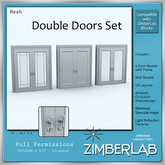 Door Mesh with full permissions - ZimberLab Builder's Kit F3