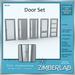 Modern Door full perm - ZimberLab Door G