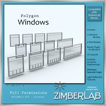Mesh Windows full perm - ZimberLab - Windows G