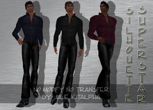 + Silhouette + Male - SuperStar - FatPack