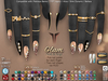 **RE** Glam Nails & Rings Set  - Maitreya - SLink Dynamic - Belleza - Alice - Legacy