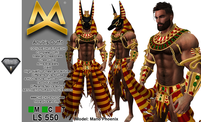 <MK> Anubis Outfit - Aesthetic