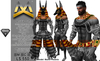 <MK> Anubis Outfit - ALL DEMOS BOX - BELLEZA JAKE - God Egypt - fantasy costume
