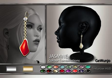 GeWunjo : JASMINE pearl earrings