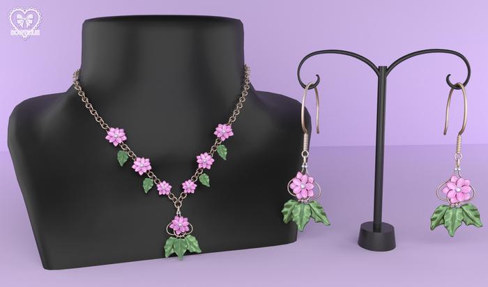 Bowtique - Fleur Jewelry Set