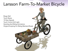 Larsson Farm-To-Market Bicycle For Modern Homesteaders!