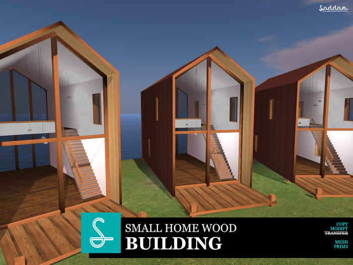 Small Home Wood Design - Building