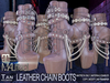 MALified - Chain Boots Leather (Tan): Maitreya Only