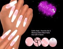 B(u)Y Me: Coffin Nails - French Set 1 BOX/wear