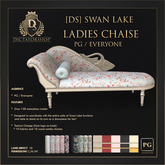[Ds] SWAN LAKE Ladies Chaise PG