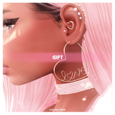PINKI. Love Earrings [update] / GIFT 2020