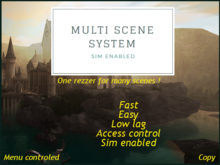 Multi scene system