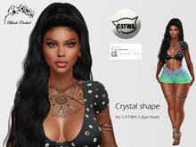 Crystal shape CATWA Catya + Maitreya