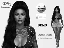 Crystal shape CATWA Catya DEMO + Maitreya