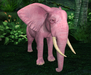 Retired oYo Elephant - Retired Baby Pink Elephant Agate (Tamed)